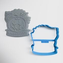 Paku Malzeme - Plastik kalıp HALLOWEEN Trick or Treat; 7,9*7,2 cm