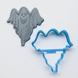 Paku Malzeme - Plastik kalıp Hayalet; 8,8*8,2 cm
