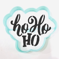 Paku Malzeme - Plastik kalıp Ho Ho Ho; 9*7,8 cm