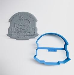 Paku Malzeme - Plastik kalıp HORROR NIGHT; 8,0*7,0 cm