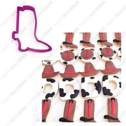 Paku Malzeme - Plastik Kalıp Kovboy Çizme; 8*6,6 cm