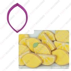 Paku Malzeme - Plastik Kalıp Limon; 9*6 cm
