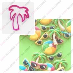 Paku Malzeme - Plastik Kalıp Palmiye; 8,5*7 cm