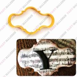 Paku Malzeme - Plastik Kalıp Plaka-140; 10*6 cm