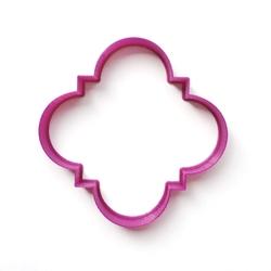 Paku Malzeme - Plastik Kalıp Plaka-194; 9*9 cm