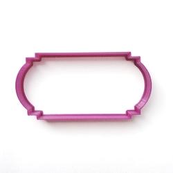 Paku Malzeme - Plastik Kalıp Plaka-197; 11 cm
