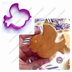 Paku Malzeme - Plastik Kalıp Sevimli Kuş; 8,5*8,5 cm