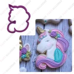 Paku Malzeme - Plastik kalıp Unicorn-3; 9*7,7 cm