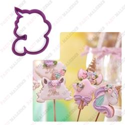Paku Malzeme - Plastik kalıp Unicorn-3; 9*7,7 cm (1)