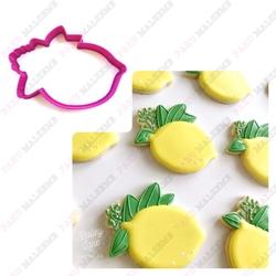 Paku Malzeme - Plastik Kalıp Yapraklı Limon; 8,8*7,2 cm (1)