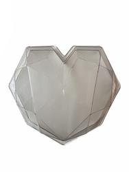 Diğer - Polikarbon Pinyata Elmas Kalp; 19,7*17,8 cm