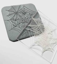 Paku Malzeme - Pop-it stamp kaşe SPOOKY WEB; 8,0*8,0 cm (1)