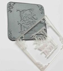 Paku Malzeme - Pop-it stamp kaşe TRICK or TREAT; 8,0*8,0 cm (1)