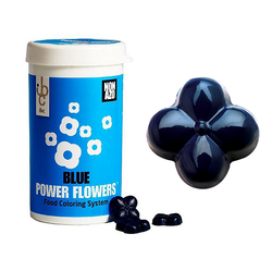 Barry Callebaut - Power Flower Non-Azo Blue; 50 gr