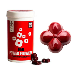 Barry Callebaut - Power Flower Non-Azo Red; 50 gr
