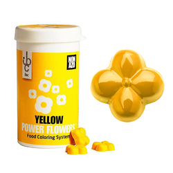 Barry Callebaut - Power Flower Non-Azo Yellow; 50 gr