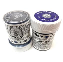Sugarflair - Renkli Kakao Yağı DARK BLUE
