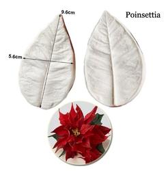 Paku Malzeme - Silikon Atatürk Çiçeği damarlayıcı; 9,5*5,5 cm