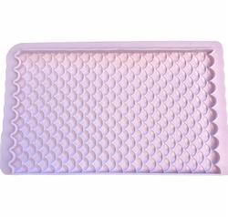 Paku Malzeme - Silikon Balık Pulu payet doku; 14,0*9,0 cm