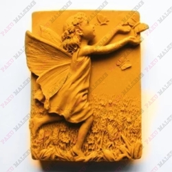 Paku Malzeme - Silikon Dreamy Angels-2; 7,7*4,8 cm