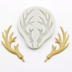 Paku Malzeme - Silikon Geyik Boynuzu; 9,0*7,6 cm