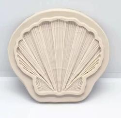 Paku Malzeme - Silikon İstiridye Kabuk; 9,0*8,0 cm
