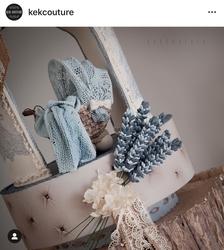 Paku Malzeme - Silikon kalıp Basket Weave örgü; 10*9,5 cm (1)