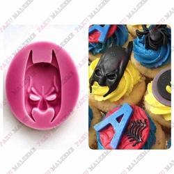 Paku Malzeme - Silikon kalıp Batman; 6*3 cm