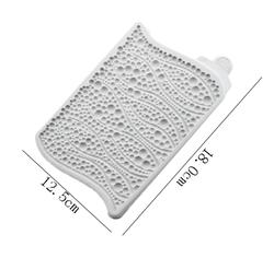Paku Malzeme - Silikon kalıp Bubbles&Waves; 16,7*11,5 cm