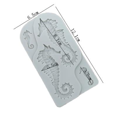 Silikon kalıp Büyük Denizatı; 12,5*6,7 cm