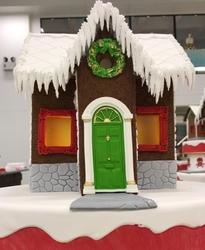 Paku Malzeme - Silikon kalıp Christmas Wreath; 5 cm (1)