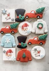 Paku Malzeme - Silikon kalıp Crochet Örgü; 18,6*10,6 cm (1)
