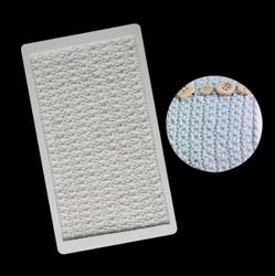 Paku Malzeme - Silikon kalıp Crochet Örgü; 18,6*10,6 cm