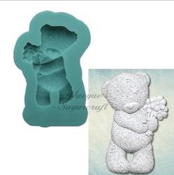 Paku Malzeme - Silikon kalıp Love Bear; 4*2,2 cm