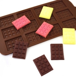 Diğer - Silikon kalıp Mini Tablet Çikolata