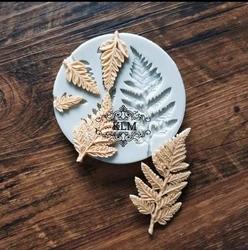 Paku Malzeme - Silikon kalıp Multi Fern Leaves; 9,5 cm