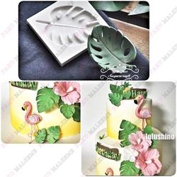 Paku Malzeme - Silikon kalıp Palm Yaprağı; 7,3*5 cm