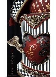 Paku Malzeme - Silikon kalıp Relief embellishment; 9,3*3,5 cm (1)