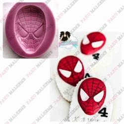 Paku Malzeme - Silikon kalıp Spiderman; 5,6*3,5 cm