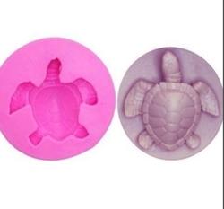 Paku Malzeme - Silikon Kaplumbağa; 3,4*3,1 cm