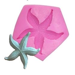 Paku Malzeme - Silikon Küçük Deniz Yıldızı; 4,7*4,5 cm