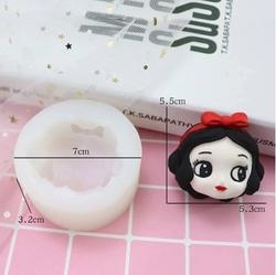 Paku Malzeme - Silikon Snowwhite Pamuk Prenses; 7,0*7,0 cm (1)
