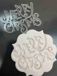 Paku Malzeme - Stamp kaşe MERRY CHRISTMAS