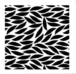 Paku Malzeme - Stencil Falling Leaves