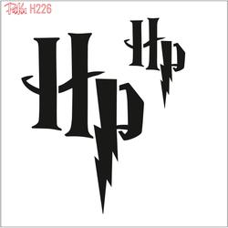 Paku Malzeme - Stencil Harry Potter; 15*15 cm