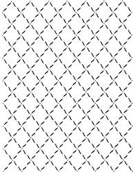 Paku Malzeme - Stencil Lattice
