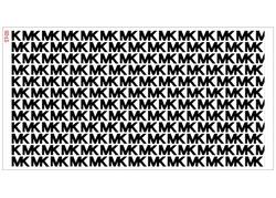 Paku Malzeme - Stencil Michael Kors; 40*20 cm