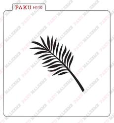Paku Malzeme - Stencil Palm Leaf