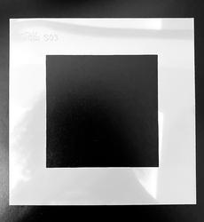 Paku Malzeme - Stencil Empty Frame; 15*15 cm