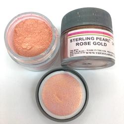 The Sugar Art ELITE - Toz boya Sterling Pearl ROSE GOLD